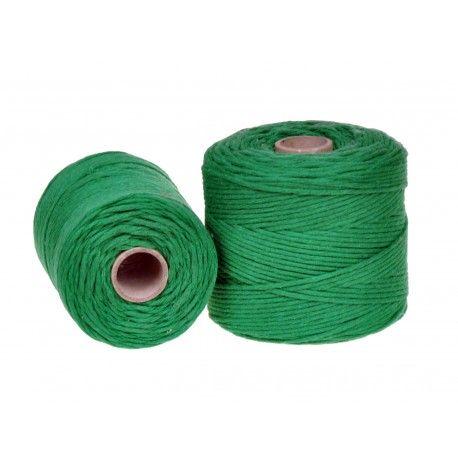 Sznurek Bawełniany Zielony