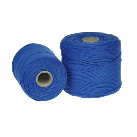 Sznurek Bawełniany Niebieski